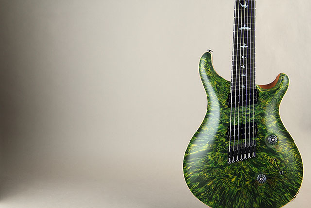 Paul Reed Smith Private Stock #5777 Custom24 7 String Multi-scale Burl Maple Top Rainforest ポールリードスミス サブ画像20