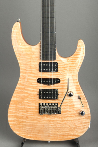 Carve Top/Set Neck/Maple Top,Mahogany Wing/HSH/Natural