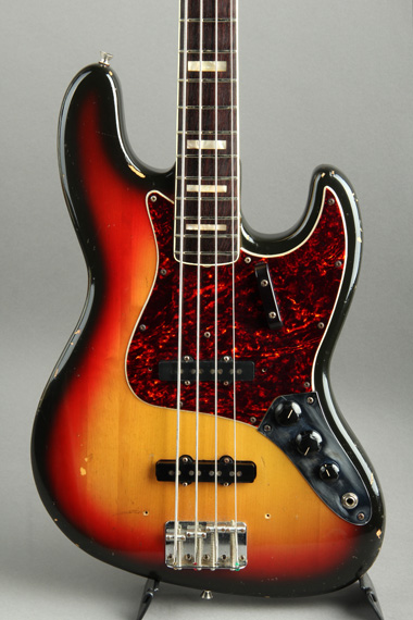 1972 Jazz Bass Sunburst/Rose
