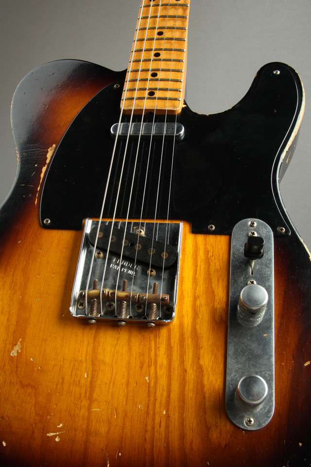 FENDER CUSTOM SHOP 2008 Limited Team Built Custom 1958 Heavy Relic Telecaster フェンダーカスタムショップ サブ画像5