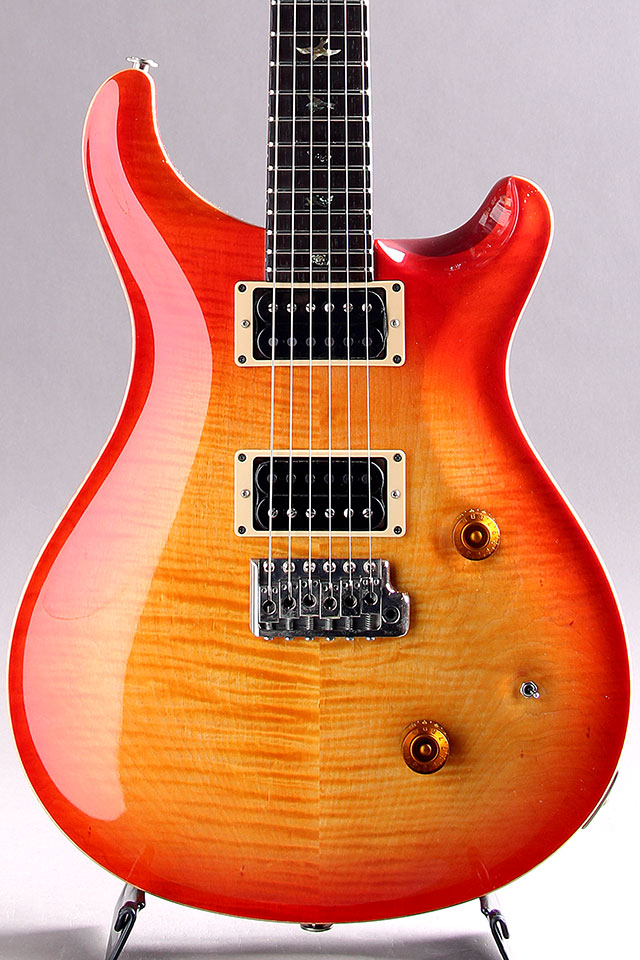 Custom 24 Bird Inlay Brazilian Fingerboard Cherry Sunburst 1986