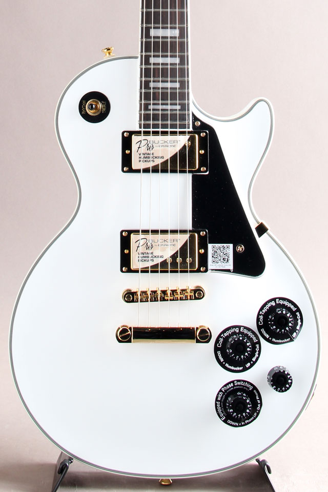 Les Paul Custom Pro【Alpen White】