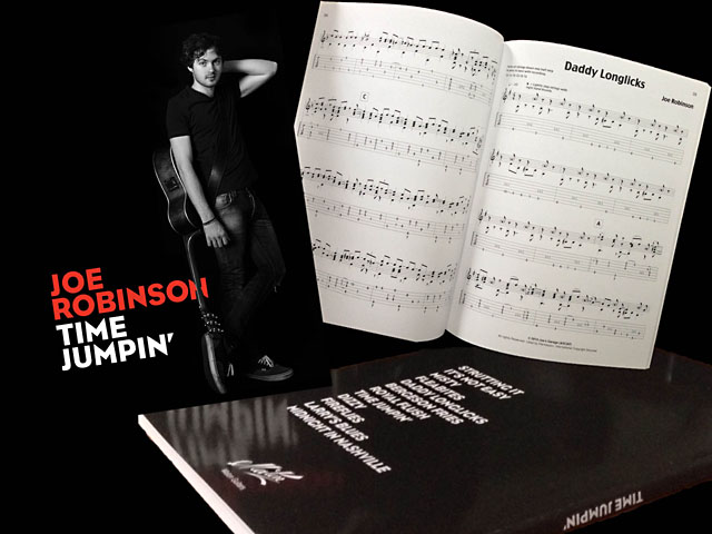 JOE ROBINSON / TIME JUMPIN'(MIDNIGHT IN NASHVILLE) [タブ譜]