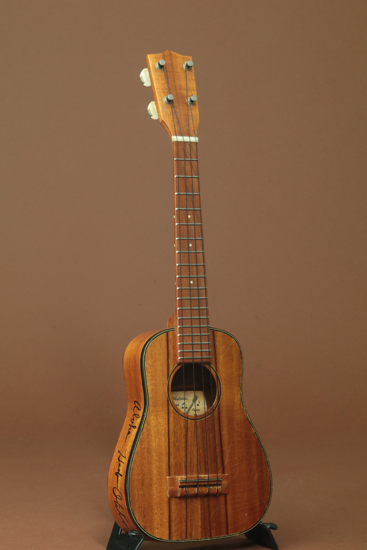 Hawaiian Koa Concert Semi Long Neck