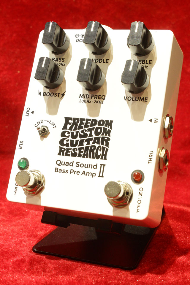 FREEDOM CUSTOM GUITAR RESEARCH Quad Sound Bass Pre Amp II フリーダム Quad Sound Bass Pre Amp II
